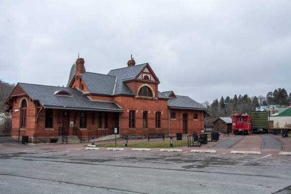 Railroad Museum in Oakland, Maryland