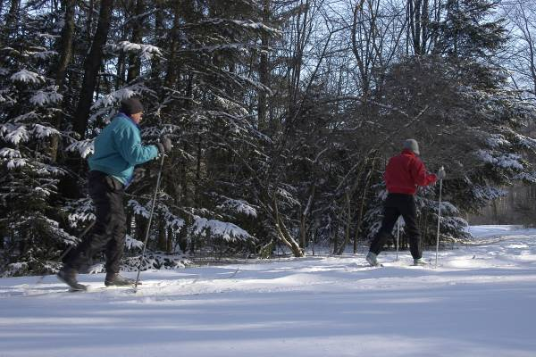 Cross Country Skiing near Deep Creek Lake