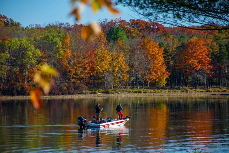 Fall Fishing at Deep Creek Lake