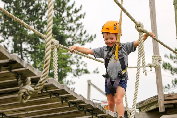 Ropes Course at Wisp Resort