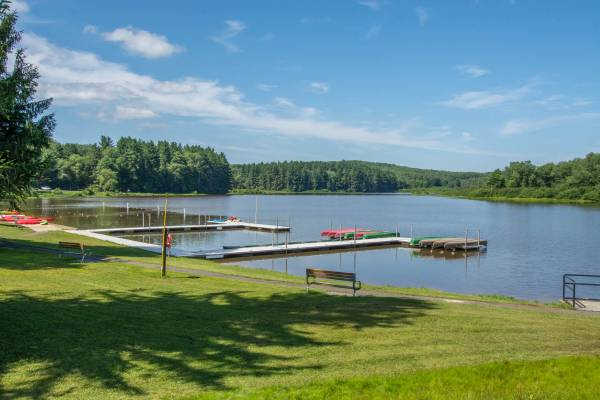 Boats at Herrington Manor State Park Garrett County, MD