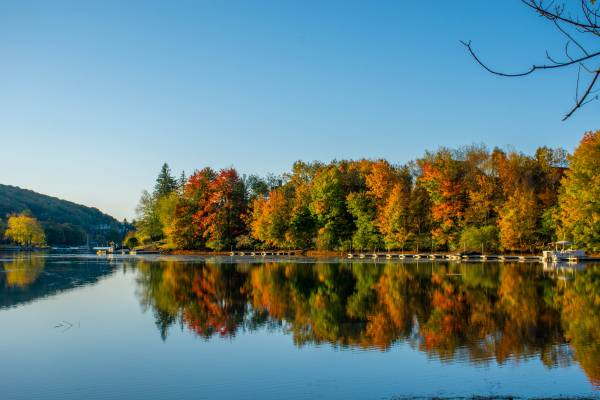Fall Weather at Deep Creek Lake