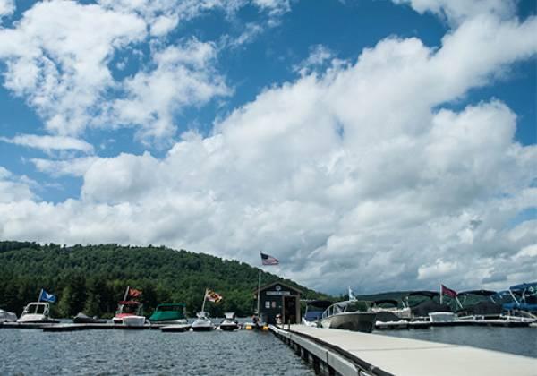 Silver Tree Marine Dock Area