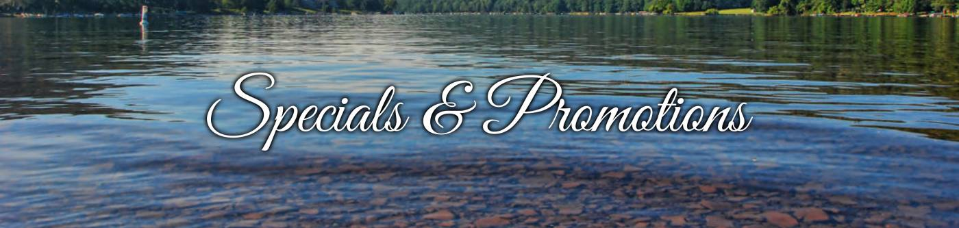 Specials and Promotions | Suites at Silver Tree at Deep Creek