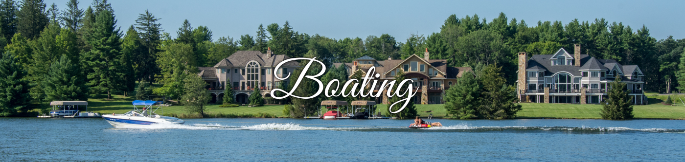 Boating on Deep Creek Lake